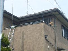 ベランダ・バルコニー用屋根・テラス 施工前