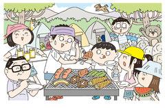 季節 夏 キャンプ