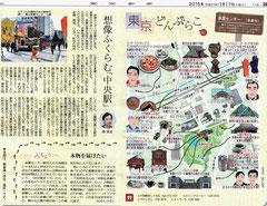 東京どんぶらこ 多摩センターイラストマップ