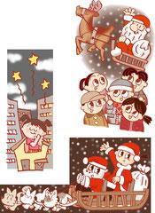 子供    クリスマス