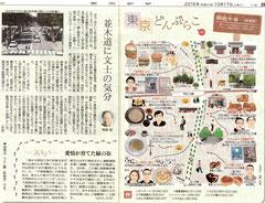 東京どんぶらこ 阿佐ケ谷イラストマップ