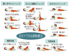 ストレッチ 腰痛 自宅でできる運動療法