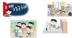 子供 教材 学校 教育 勉強 生活 興味