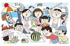 季節 8月 夏 夏休み 海