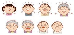イメージ カット  イラスト 表情