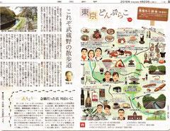 東京どんぶらこ 善福寺川緑地イラストマップ