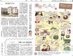 東京どんぶらこ ひばりが丘 イラストマップ