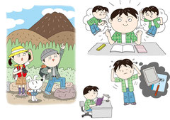 子供   体験 目標 勉強 宿題
