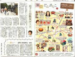 東京どんぶらこ 自由が丘イラストマップ