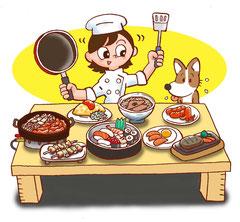子供 料理 ごちそう 食事
