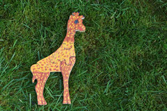 PUZZLE GIRAFE 6 PIÈCES