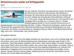 18. Nov. 2014: Haller Blatt
