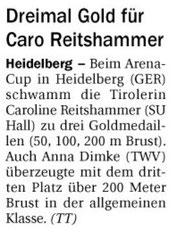 24. April 2013: Tiroler Tageszeitung