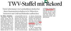 03. Aug. 2014: Tiroler Tageszeitung
