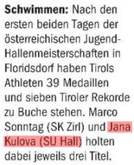 23. März 2014: Tiroler Tageszeitung