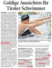 29.Juli 2014: Tiroler Tageszeitung