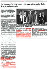 26. April 2013: Haller Stadtzeitung