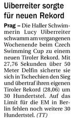 03. Juni 2014: Tiroler Tageszeitung