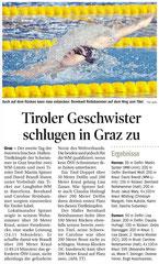 10. März 2013: Tiroler Tageszeitung