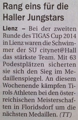 21. März 2014: Tiroler Tageszeitung