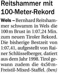 21. Mai 2013: Tiroler Tageszeitung