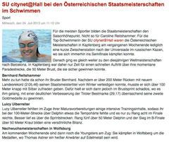 24. Juli 2013: Haller Blatt