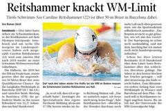 27. Mai 2013: Tiroler Tageszeitung