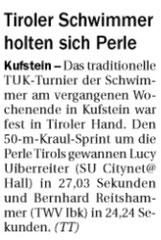 27. Mai 2014: Tiroler Tageszeitung