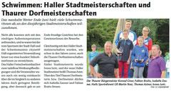 05. Juli 2013: Haller Blatt