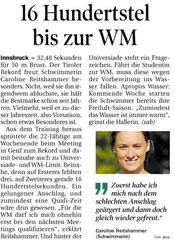 29. April 2013: Tiroler Tageszeitung