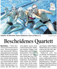 28. Juli 2013: Tiroler Tageszeitung