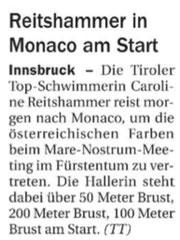 07. Juni 2013: Tiroler Tageszeitung