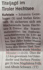 12. Aug. 2014: Tiroler Tageszeitung