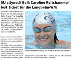 06. Juni 2013: Haller Blatt