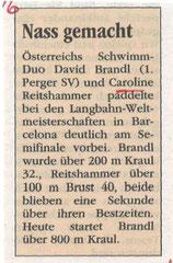30. Juli 2013: Neues Volksblatt