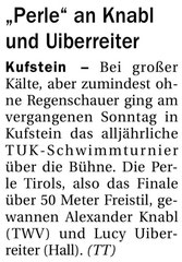 29. Mai 2013: Tiroler Tageszeitung