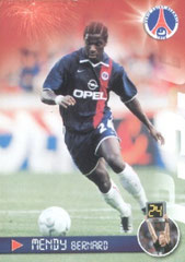 N° 35 - Bernard MENDY (Recto)