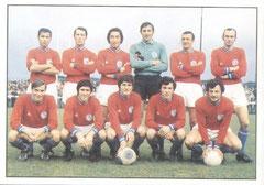 N° 004 - 1970-71 - 1ère Equipe Pro