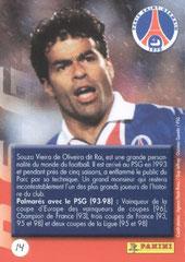 N° 14 - Souza Veira de Oliveira RAI (Verso)
