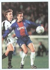 N° 022 - 2000-01 - PSG-Rosenborg - Laurent Robert inscrit le 5ème but