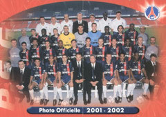 N° 15 et 16 - Photo Officielle 2001-02 (Recto)