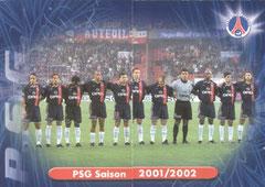 N° 50 et 51 - PSG saison 2001-02 (Recto)