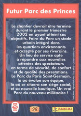 N° 98 - Futur Parc des Princes (Verso)