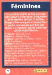 N° 09 - Féminines (Verso)