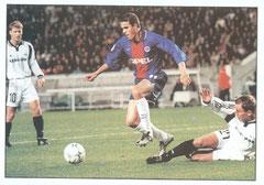 N° 023 - 2000-01 - PSG-Rosenborg - Laurent Robert dans ses oeuvres !