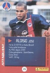 N° 36 - Jose ALOISIO (Verso)