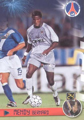 N° 68 - Bernard MENDY (Recto)