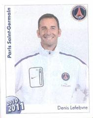 N° 312 - Denis LEFEBVRE (Préparateur physique)