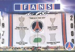 N° 96 et 97 - Fans du PSG (Recto)