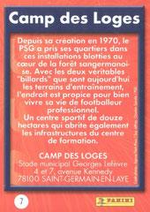 N° 07 - Camp des Loges (Verso)